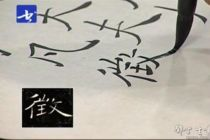 杨明臣先生临习示范讲解褚遂良《雁塔圣教序》书法讲座(半小时视频)