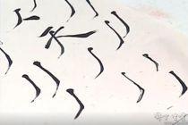 洪厚甜老师临摹示范《大字阴符经》1小时书法视频