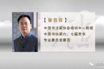 崔胜辉隶书创作《南乡子·登京口北固亭有怀》书法视频